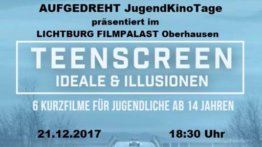 AUFGEDREHT JugendKinoTage präsentiert TeenScreen