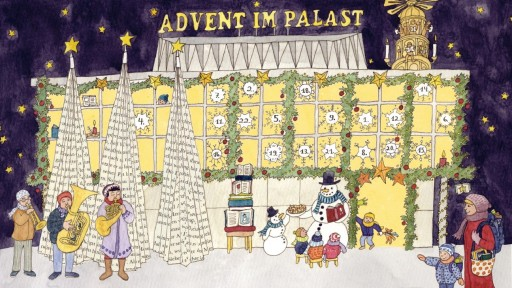 Advent im Palast